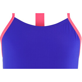 Nike Swim Solids T-Back One Piece Mädchen racer blue